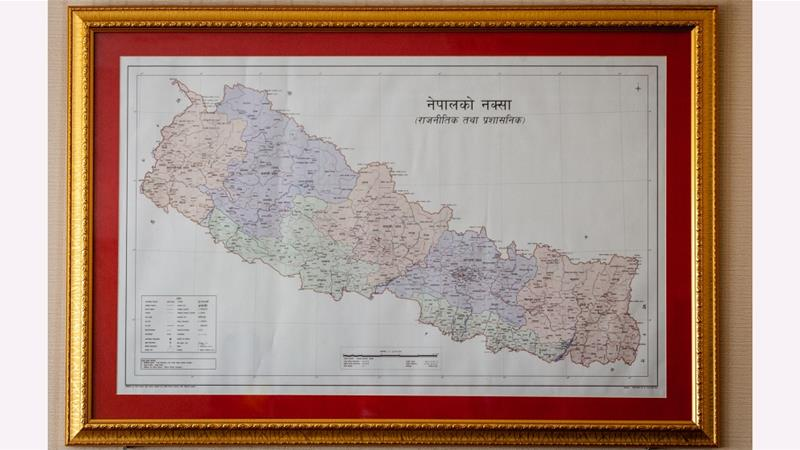 New Nepal map heightens land dispute with India