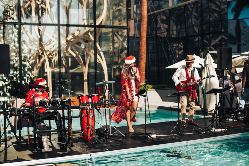 If you're looking for festive party vibe this Christmas, look no further than FIVE Palm Jumeirah Dubai